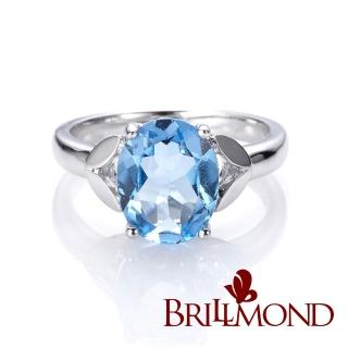 【BRILLMOND JEWELRY】典雅3克拉拓帕石戒   BRILLMOND JEWELRY