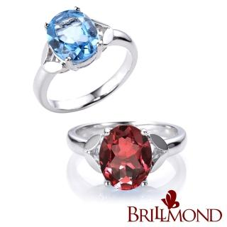 【BRILLMOND JEWELRY】典雅2克拉拓帕石戒   BRILLMOND JEWELRY
