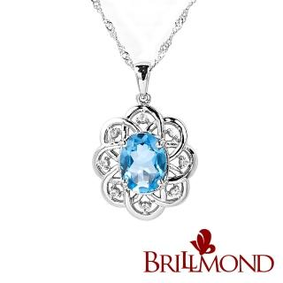 【BRILLMOND JEWELRY】綻放2克拉拓帕石墜   BRILLMOND JEWELRY