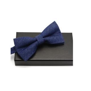 【拉福】領結牛仔休閒結婚領結糾糾(深藍)  拉福