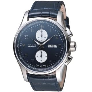 【HAMILTON 漢米爾頓】爵士大師系列計時機械錶(H32766643)  HAMILTON 漢米爾頓