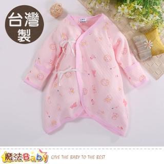 【魔法Baby】包屁衣 台灣製秋冬厚款三層棉保暖蝴蝶衣(k60571)   魔法Baby