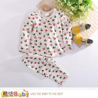 【魔法Baby】兒童居家套裝 彈性布睡衣褲(k60565)   魔法Baby