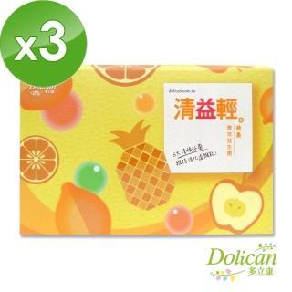 【多立康】清益輕蔬果雙酵益生菌(60包X3盒)   多立康