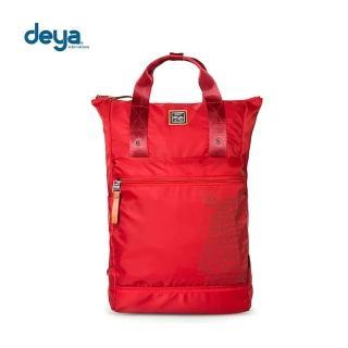 【deya】生活趣平口後背包(紅色)   deya