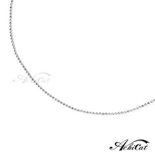 【AchiCat】925純銀鍊 18吋 角珠鍊 ES6009  AchiCat