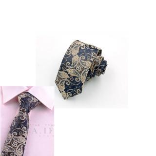 【拉福】領帶6cm中窄版領帶手打領帶(皇龍)  拉福