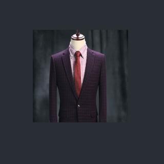 【拉福】領帶6cm中窄版領帶手打領帶(紅紋)  拉福