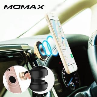 【Momax】磁吸式車載支架-出風口(金色/銀色/玫瑰金)  Momax