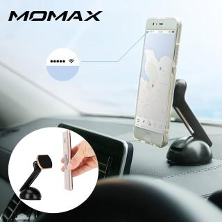 【Momax】磁吸式車載支架-吸盤式(金色/銀色/玫瑰金)  Momax