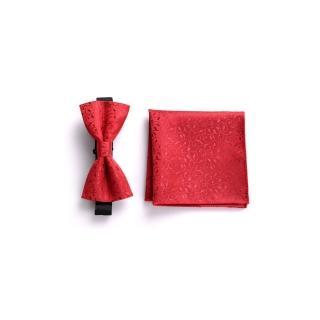 【拉福】薔薇西裝口袋巾新郎領結糾糾(整組)   拉福