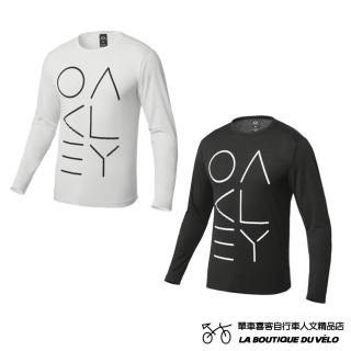 【Oakley】ENHANCE TECHNICAL QD LS TEE.04(日本限定款 大LOGO印花長袖T恤)   Oakley