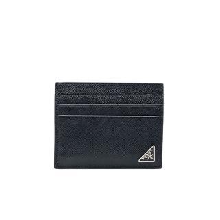 【PRADA 普拉達】2MC223 黑 小三角牌(扁式卡夾)   PRADA 普拉達
