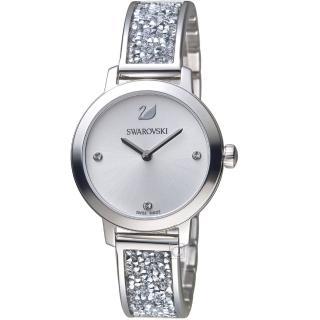 【SWAROVSKI 施華洛世奇】COSMIC ROCK閃耀時尚腕錶(5376080)  SWAROVSKI 施華洛世奇