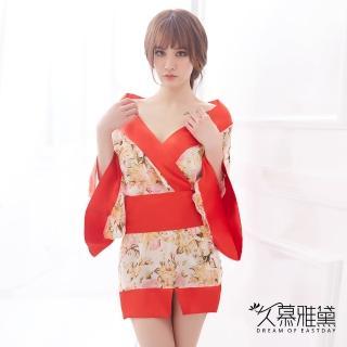 【久慕雅黛】花宴紅葉華麗和服角色扮演服   久慕雅黛