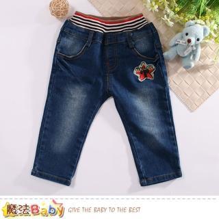 【魔法Baby】1-3歲幼兒牛仔褲(k60610)  魔法Baby