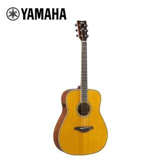 【YAMAHA 山葉】FG-TA VT TransAco 電民謠木吉他 復古原木色(原廠公司貨 商品保固有保障)  YAMAHA 山葉