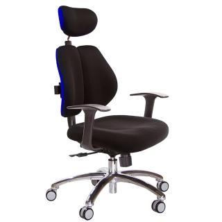 【吉加吉】雙背涼感 電腦椅 鋁腳/T字扶手扶手(TW-2995LUA)   吉加吉