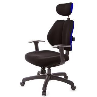 【吉加吉】人體工學 雙背椅 T字扶手(TW-2994EA)  吉加吉