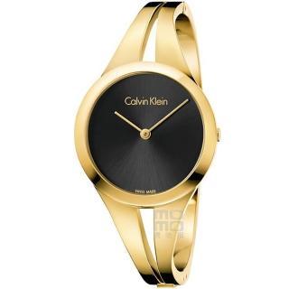 【Calvin Klein】Addict Gold 凱文克萊時尚手環錶-玫瑰金色(K7W2S511)  Calvin Klein