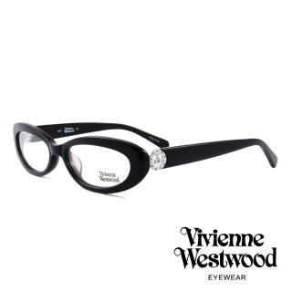 【Vivienne Westwood】英國薇薇安魏斯伍德★英倫龐克風光學眼鏡(黑 VW153M03)  Vivienne Westwood