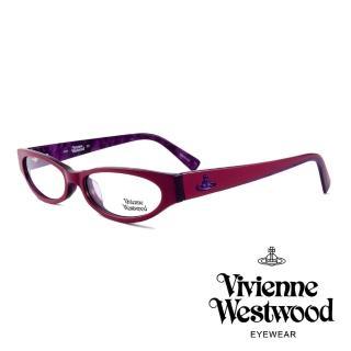 【Vivienne Westwood】英國薇薇安魏斯伍德★復古時尚造型光學眼鏡(紅紫 VW152M03)  Vivienne Westwood