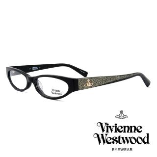 【Vivienne Westwood】英國薇薇安魏斯伍德★復古時尚造型光學眼鏡(黑 VW152M01)   Vivienne Westwood