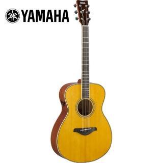 【YAMAHA 山葉】FS-TA VT TransAco 電民謠木吉他 復古原木色(原廠公司貨 商品保固有保障)  YAMAHA 山葉