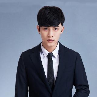 【拉福】領帶中窄版領帶6cm領帶手打領帶(交叉)  拉福
