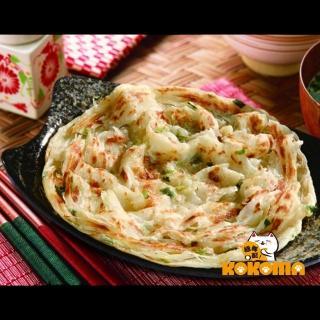 【極鮮配】禾家香蔥抓餅5入(600g±10%/包-10包入)  極鮮配