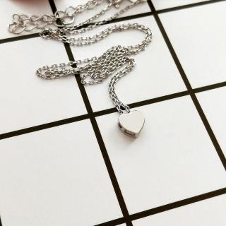【DoriAN】迷你愛心鎖骨項鍊(925純銀)  DoriAN