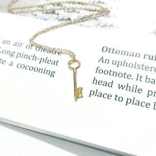 【DoriAN】Key 秘密金鑰鎖骨項鍊(925純銀 鍍18K金)   DoriAN