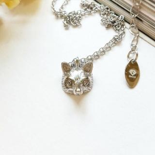 【DoriAN】小銀狐狸鎖骨項鍊(925純銀)   DoriAN