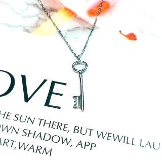 【DoriAN】Key 秘密金鑰鎖骨項鍊(925純銀)  DoriAN