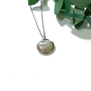 【DoriAN】銀貝殼鎖骨項鍊(925純銀)   DoriAN