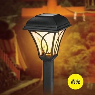 【KINYO】太陽能LED庭園燈-黃光(GL-6015)   KINYO