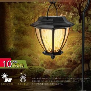 【KINYO】金屬吊掛LED庭園燈-黃光(GL-6030)   KINYO