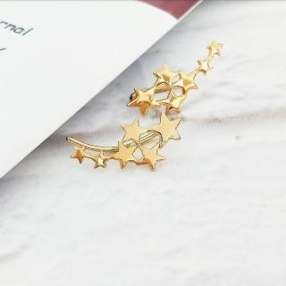 【DoriAN】優美星空耳環(925純銀 鍍18K金)   DoriAN