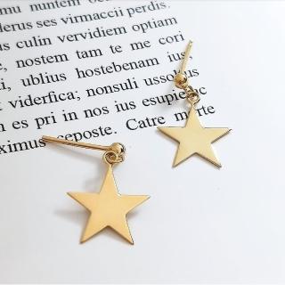 【DoriAN】星星耳環(925純銀 鍍18K金)   DoriAN