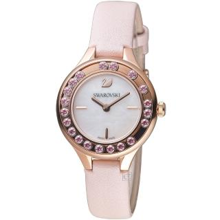 【SWAROVSKI 施華洛世奇】Lovely Crystals Mini飄鑽魅力腕錶(5376089)  SWAROVSKI 施華洛世奇