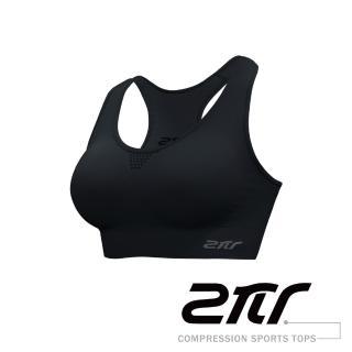 【2PIR】女款透氣支撐運動背心(科技黑)   2PIR