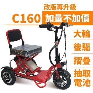 【Suniwin】尚耘國際折疊三輪電動車c160(迷你電動車/ 老年代步車/ 出遊代步車)   Suniwin