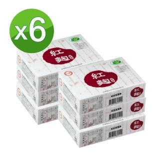 【即期出清】台糖紅麴膠囊 60粒X6盒/組(限量搶購)   即期出清