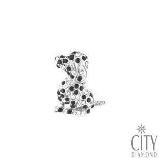 【City Diamond 引雅】史努比狗狗領帶夾/別針/徽章(東京Yuki系列)  City Diamond 引雅