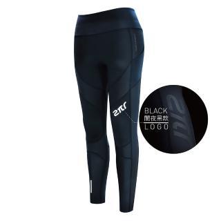 【2PIR】女款3D立體支撐壓力褲 闇夜黑   2PIR