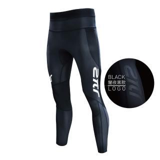 【2PIR】男款3D立體支撐壓力褲 闇夜黑   2PIR