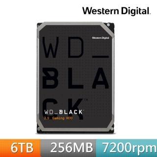【WD 威騰】WD6003FZBX 黑標 6TB 3.5吋SATA硬碟   WD 威騰