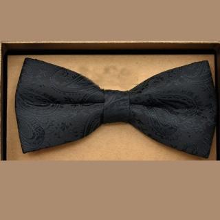 【拉福】腰果花紋質感新郎結婚領結(兒童)  拉福