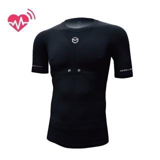 【CABALLERO】男款心跳感測壓縮衣 黑   CABALLERO