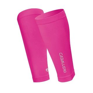 【CABALLERO】一體成型運動壓力腿套 螢光桃紅   CABALLERO